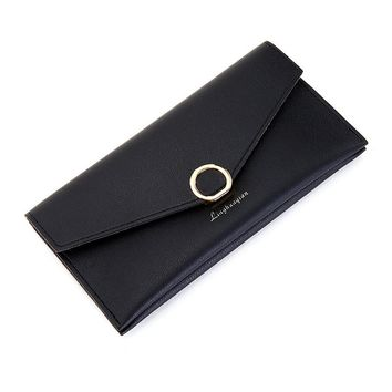 Newest Women Wallets Large Capacity Cute Card Hold Long Purses candy color Long Wallet Carteira Feminina Monederos Mujer gift