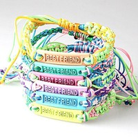 Set of 2 BFF Best Friends String Bracelets