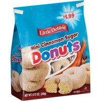 Little Debbie Cinnamon Sugar Bagged Mini Donuts 8.72oz - Walmart.com