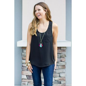 Everyday Pocket Tank - Black