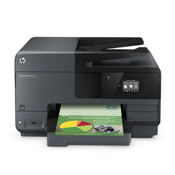 HP Officejet Pro 8610 Wireless All-in-One Color Inkjet Printer