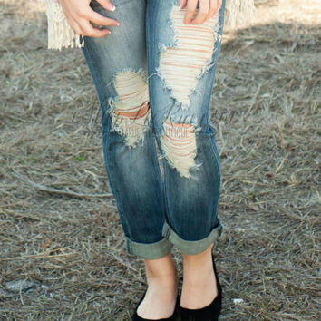 THE MALLORY SKINNY CROPPED JEAN
