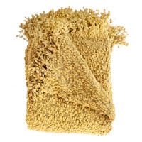 Besty Gold Boucle Throw