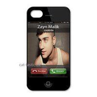 Zayn Malik calling 1D ONE DIRECTION IPHONE 4/4S/5 PRINTED HARD CASE COVER