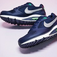 "Nike Air Max DIRECT Retro Running Shoes ""Drak Blue&Green"" 579923-403"