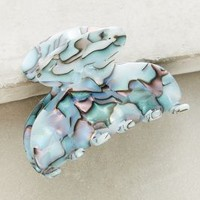 Ercine Hair Clip by Anthropologie in Sky Size: One Size Hair