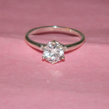 Simple promise ring size6