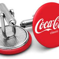 Coca Cola Coke Cufflinks