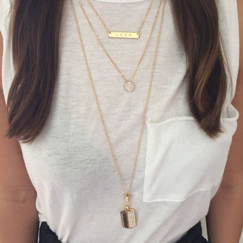 Get Lucky Layered Necklace