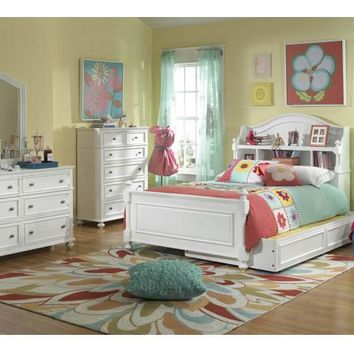 2830 Madison - Complete Bookcase Bed - Twin With Trundle