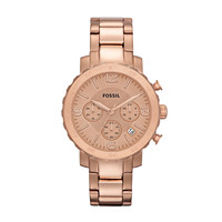 FOSSIL® Watch Styles Rose Watches:Watch Styles Natalie Stainless Steel Watch - Rose AM4423