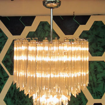 Beautiful Venini Mid Century Modern Chandelier