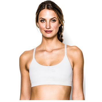 Under Armour Seamless Low Essentials Bra - Women's at Foot Locker