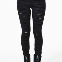 Tripp NYC Corrupted Skinny Jeans