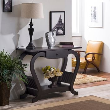 Furniture of America Hartleon Modern Espresso Sofa Table | Overstock.com Shopping - The Best Deals on Coffee, Sofa & End Tables