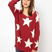 Hilfiger Denim Large Star Jumper