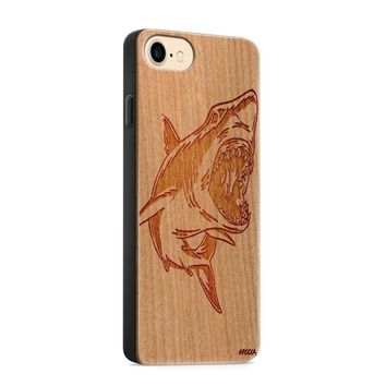 Wood  - Shark Phone Case