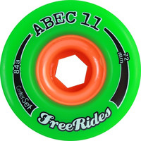Abec11 Freeride Centerset 72Mm 84A Green