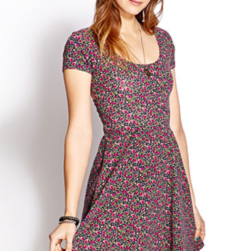 Down-To-Earth Skater Dress