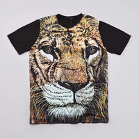 Flatspot - Diamond Fillmore Lion T Shirt Black