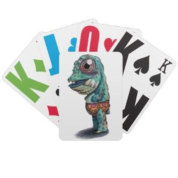 """Takukmi"" Playing Cards from Zazzle.com"