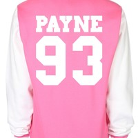 Liam Payne Date Of Birth One Direction Varsity Jacket