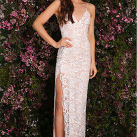 Viva Lace Gown White