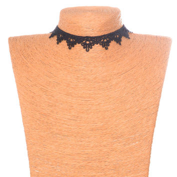 New Arrival Jewelry Gift Shiny Korean Accessory Lace Stylish Necklace [7786508999]