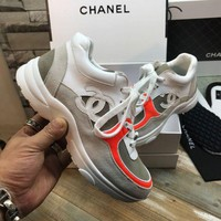(CHANEL )Leisure sports shoes for women's shoes
