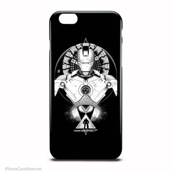 Iron Man Stark Industries The Avengers Marvel Comics Characters Case For Iphone Case