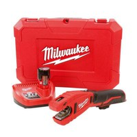 Milwaukee M12 12-Volt Lithium-Ion Cordless Copper Tubing Cutter Kit-2471-21 - The Home Depot