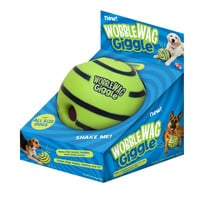 Lovely Wobble Wag Giggle Ball Dog Play Ball with Funny Sound Keeps Dogs Happy All Day