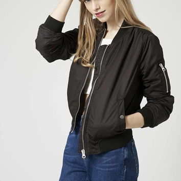 True MA1 Padded Bomber Jacket - Topshop