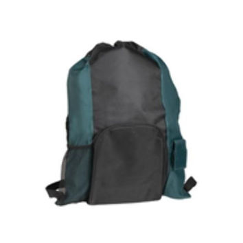 "19"" Islander Drawstring Tote/Backpack In One-GREE"