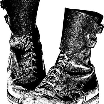 combat boots military shoes png clip art digital image download army boot military soldier printable images