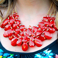 Make a Statement Necklace & Earrings Set