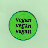 SWEET LORD O'MIGHTY! VEGAN IRON ON PATCH