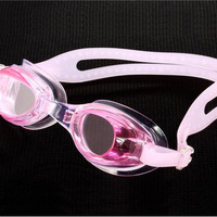 Plastic All-in-One Swimming Goggles for Children