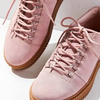 Hollie Suede Creeper Sneaker | Urban Outfitters