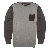 Billabong Men's Distress Crewneck Sweater