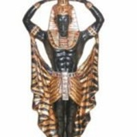 Candle Holder | Egyptian Nubian Male Altar
