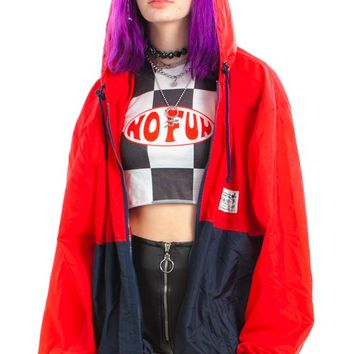 Vintage 90's Mickey Mouse Colorblock Windbreaker - One Size Fits Many