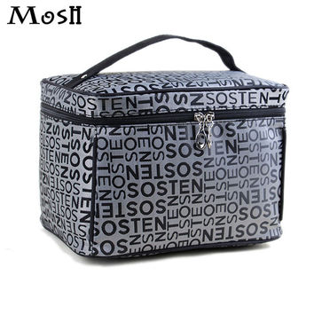 Comestic Cases Makeup Organizer Cosmetic Box Vanity Train Case Necessities Storage Travel Wash Bag Beauty Case Boxes Make Up Bag