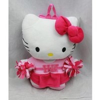 Plush Backpack - Sanrio - Hello Kitty - Cheer Leader Squad