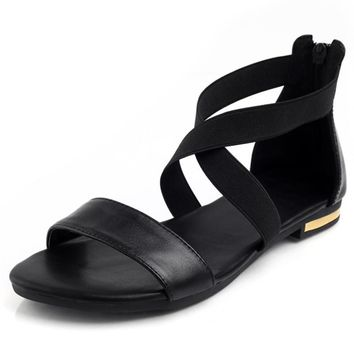 Genuine Leather Summer Sweet Women Sandal