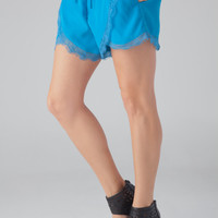 lovers + friends Romance Shorts in Cobalt