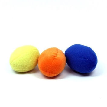 DOG TOYS - PLUSH - SQKN EGGS 3PKG  NEW OCT 2016