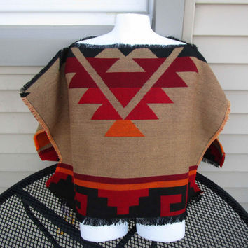 Native AmericanToddler Size Poncho