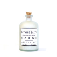 Bathing Salt- Bergamot + Vetiver