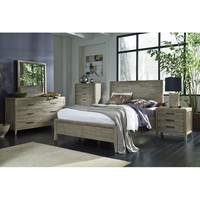 Descartes Panel Customizable Bedroom Set